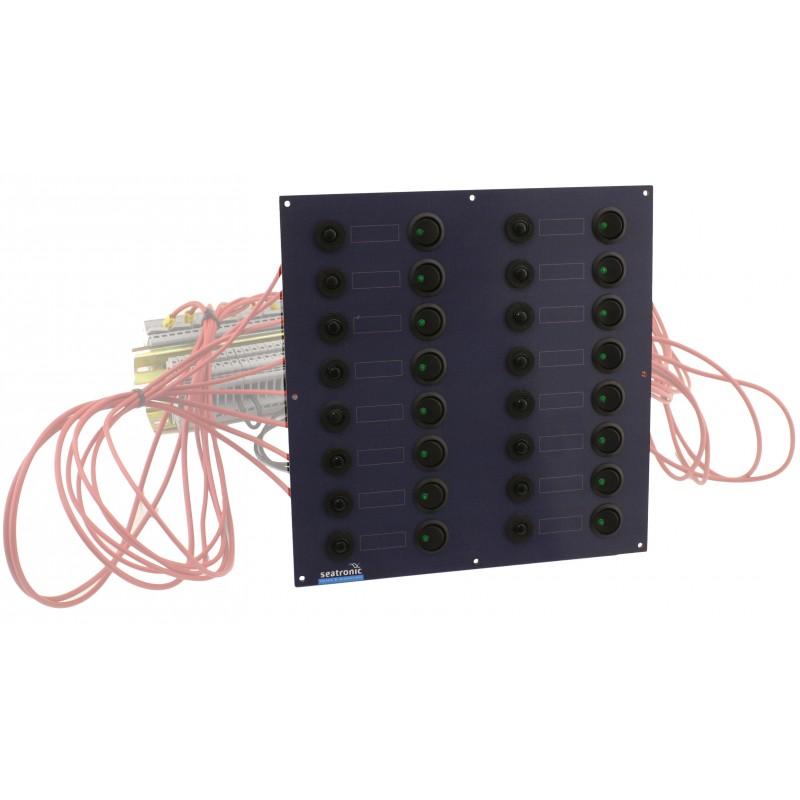 tableau lectrique 16 disjoncteurs seatronic. Black Bedroom Furniture Sets. Home Design Ideas