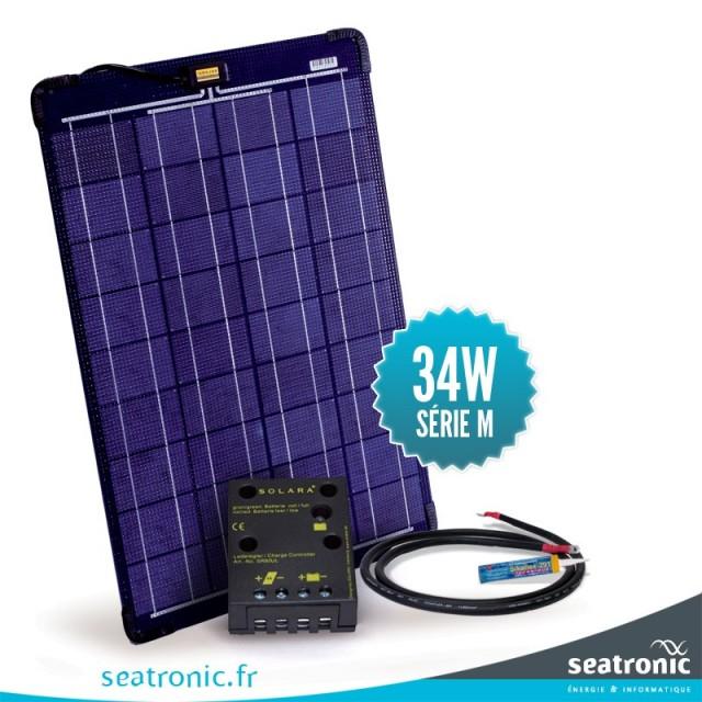 Kit solaire de pont 7-8 mètres (34W)