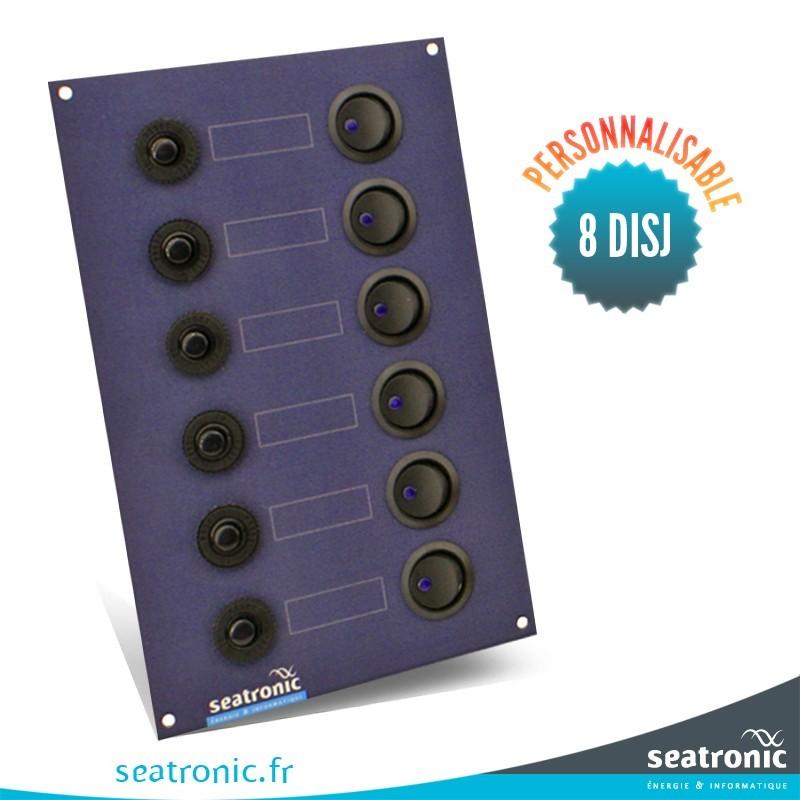 tableau lectrique 8 disjoncteurs seatronic. Black Bedroom Furniture Sets. Home Design Ideas