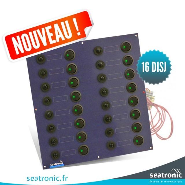 Tableau électrique 16 disjoncteurs