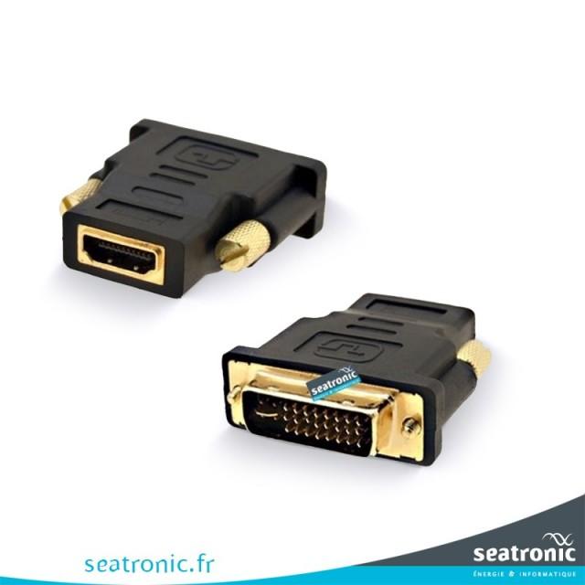 Adaptateur HDMI femelle DVI Male