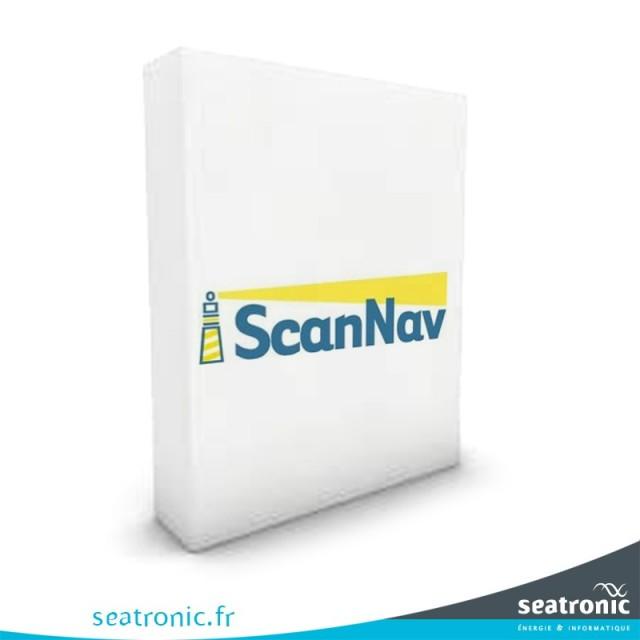 Scannav Pack Cartes SnMap Atlantique