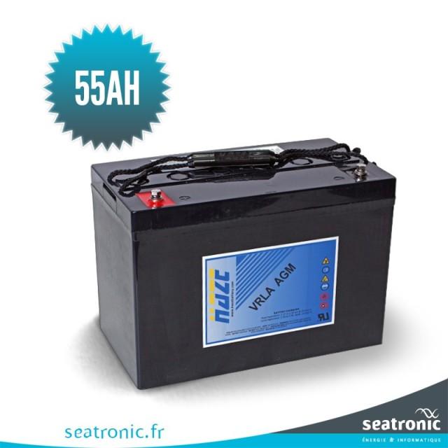Batterie marine AGM HAZE 12v 55 Ah
