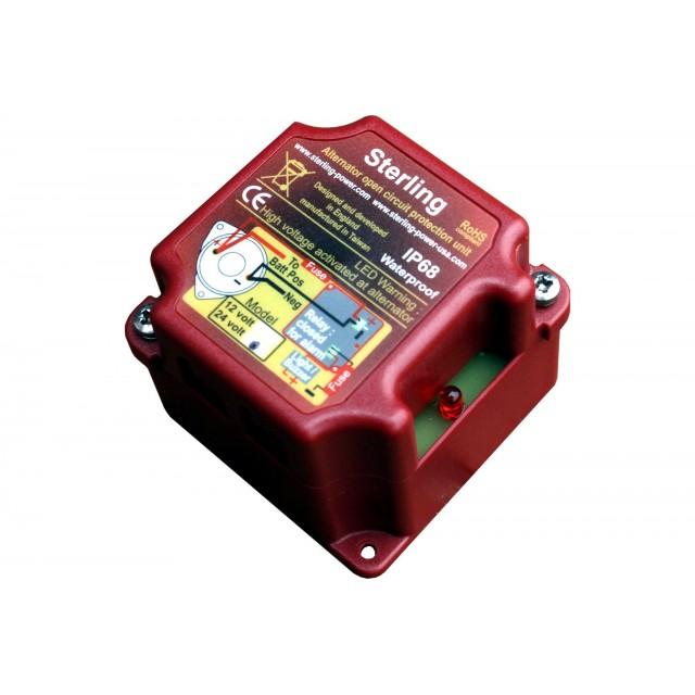 Boîtier protection Sterling alternateur 12V