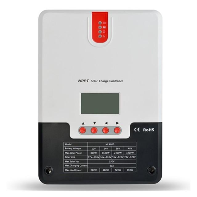 Régulateur Solaire MPPT 60A 12/24/36/48V