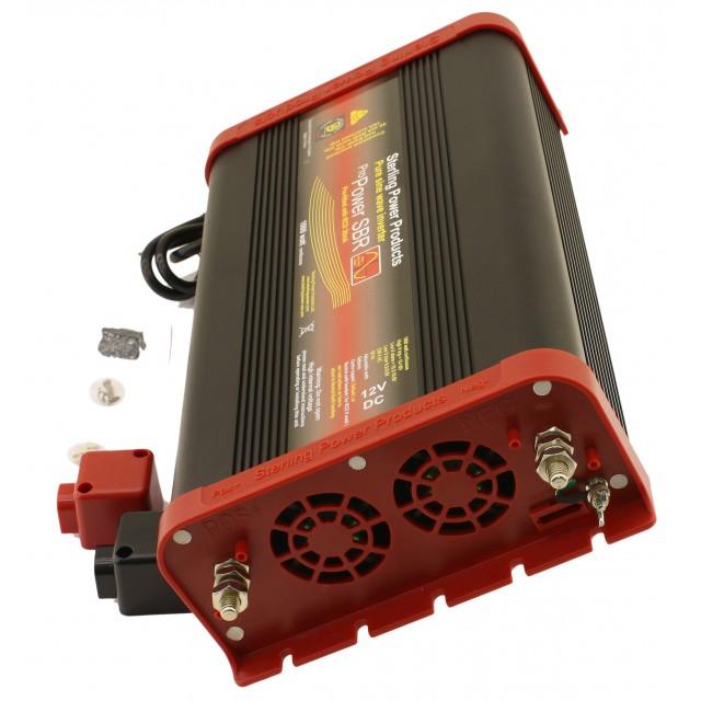 RECONDITIONNE Convertisseur pur sinus 12 Volts / 600 Watts avec disjoncteur