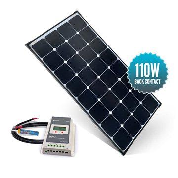 Kit de portique 110 watts (unique) back contact MPPT