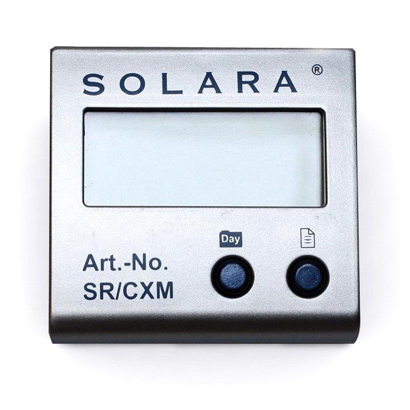 Panneau de contrôle pour régulateur Solara SR CX