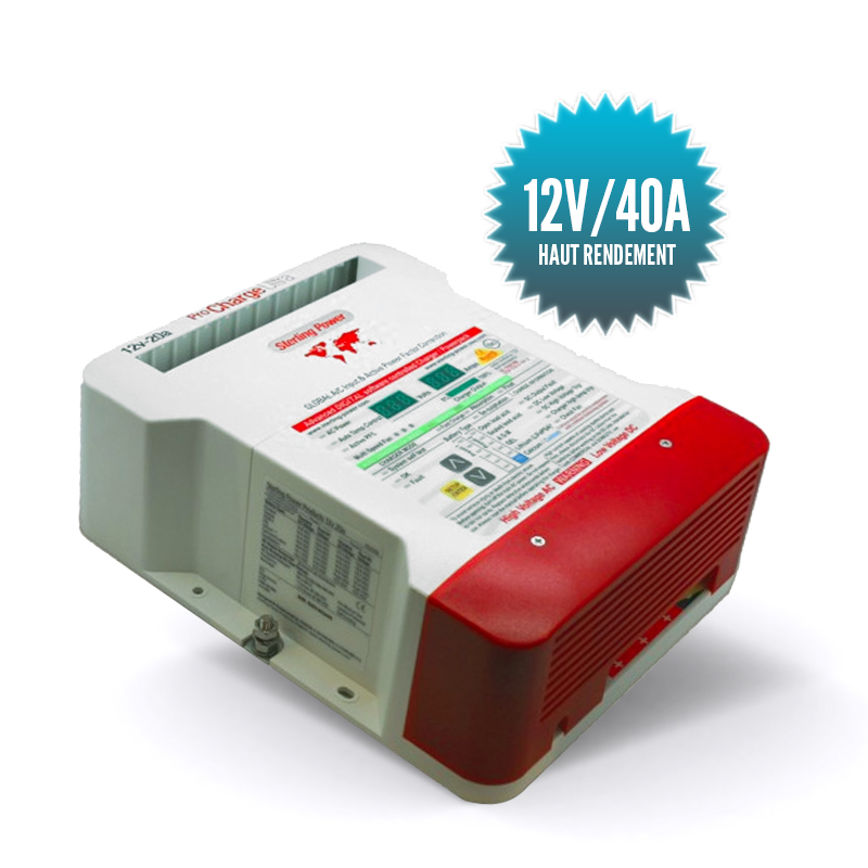 Chargeur Pro charge U 12V/40A
