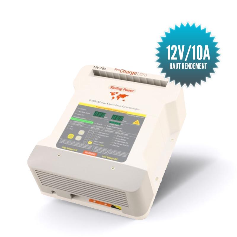 RECONDITIONNÉ - Chargeur Pro charge U 12V/10A