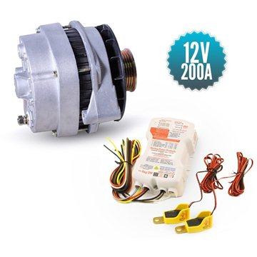 Alternateur 12V/200A avec régulateur PDARW