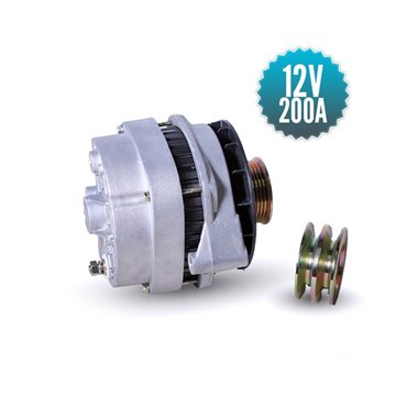 Alternateur 12 volts / 200 Ampères