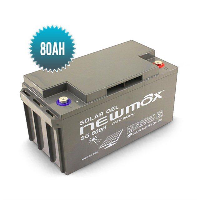 batterie gel newmax 12v 80 ah. Black Bedroom Furniture Sets. Home Design Ideas