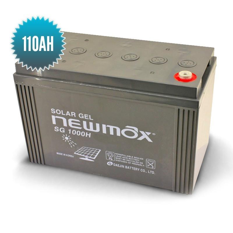 batterie gel newmax 12v 110 ah. Black Bedroom Furniture Sets. Home Design Ideas