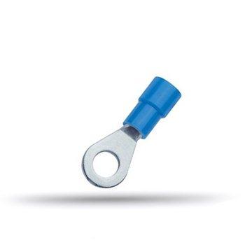 20 cosses isolées à oeil bleues 1.5 à 2.5 mm²