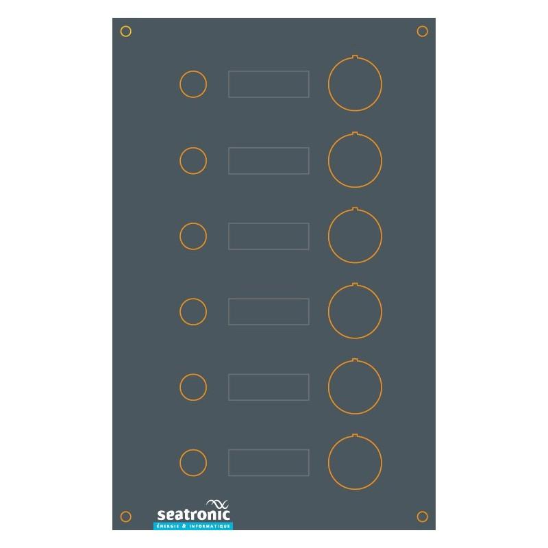 tableau lectrique 6 disjoncteurs seatronic. Black Bedroom Furniture Sets. Home Design Ideas