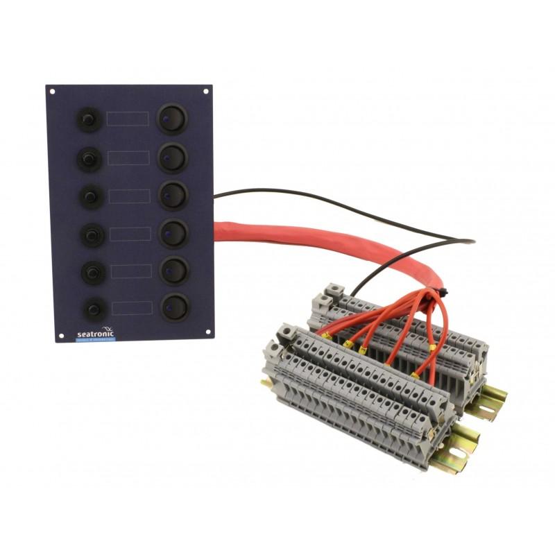 Tableau lectrique 8 disjoncteurs seatronic - Dimension tableau electrique ...