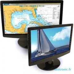 Notre gamme d'écrans pour la plaisance et régatte - très léger et basse consommation