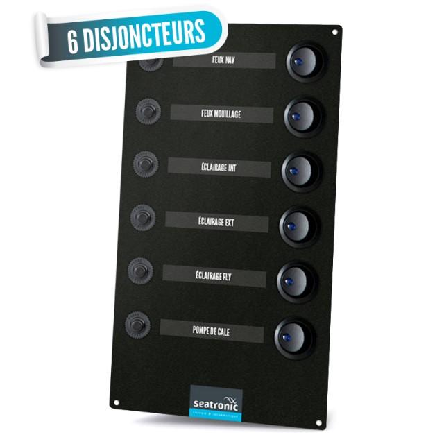 Tableau électrique 6 disjoncteurs