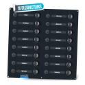 Tableau électrique 16 disjoncteurs Seatronic