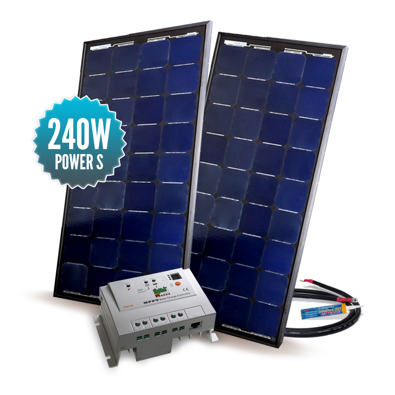 Kit solaire Power S Mppt 240W
