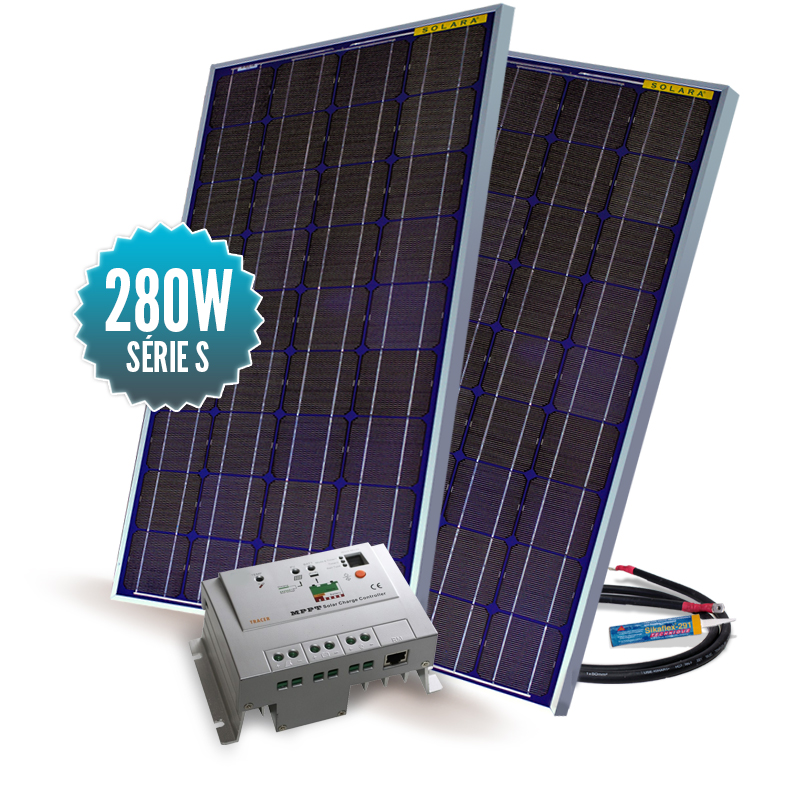 Kit solaire Série M Mppt 280W