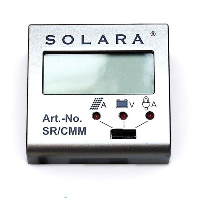 Control panel for solar controller SR135TL