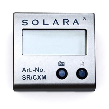 Control panel for Solara SR CX controller