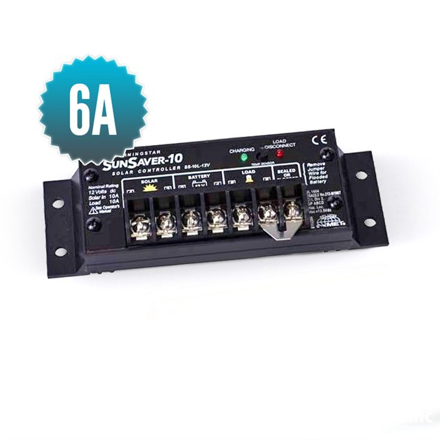 sunsaver 6A solar controller (5-year warranty)