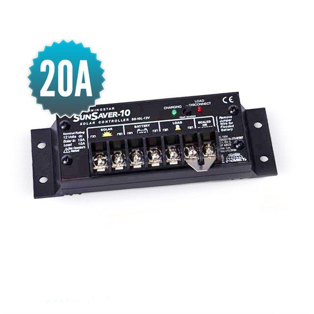 Sunsaver 20A solar controller (5-year warranty)