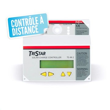 Panneau de contrôle à distance et datalogger pour régulateur tri