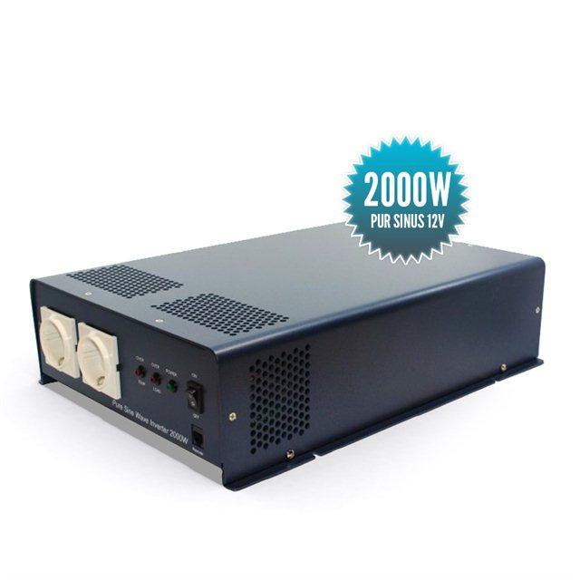 Pure sinus converter 12 Volts 2000 Watts