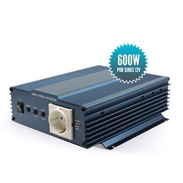 Pure sinus converter 12 Volts 600 Watts