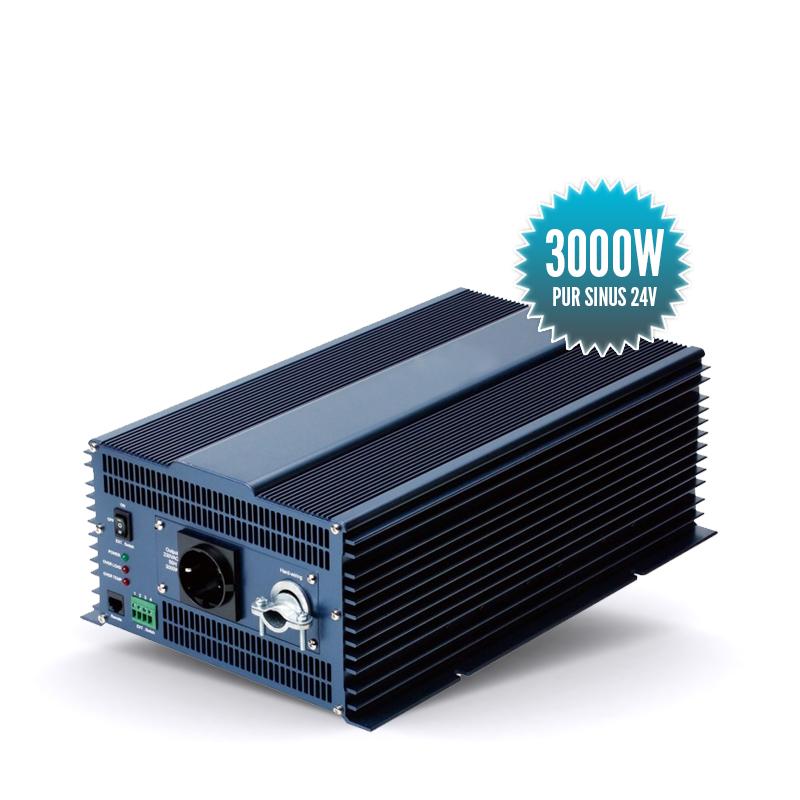 Pure sinus converter 24 Volts 3000 Watts