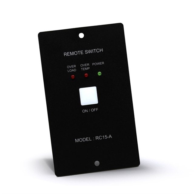 Control panel for EPS converter
