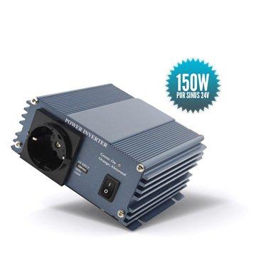 Pure sinus converter 24 Volts 150 Watts 150 Watts
