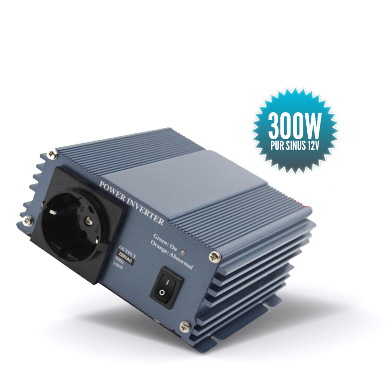Pure sinus converter 12 Volts 300 Watts
