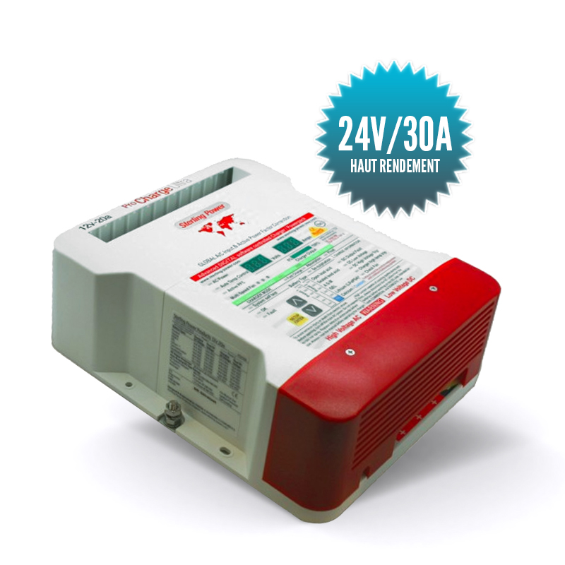Charger Pro charge U 24V/30A