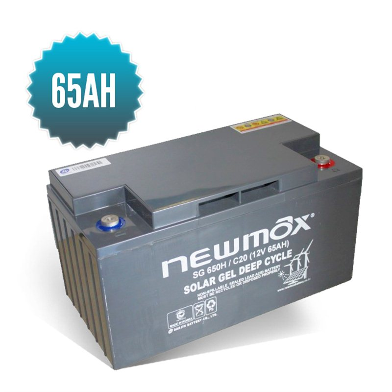 Newmax Gel Battery 65 Ah
