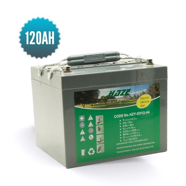 HAZE Gel Battery 12 V 120 Ah