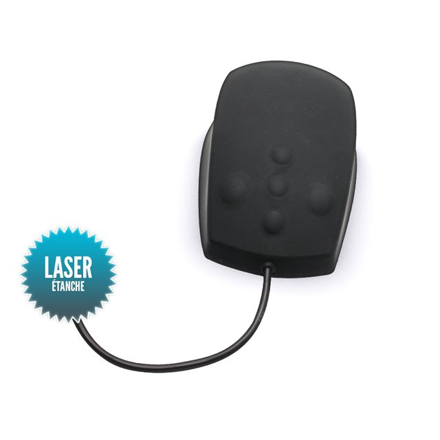 Waterproof USB laser wired mouse