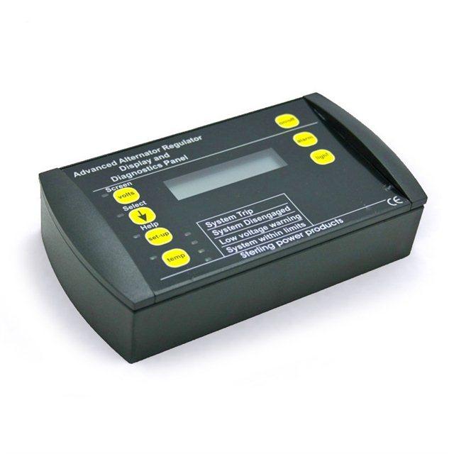 Panneau de commande et de contrôle pour chargeur AB 12v 24v