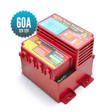 Chargeur de batterie à batterie 12V - 12V / 60A