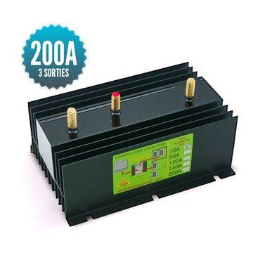Diode distributor 1 input 3 outputs 200A