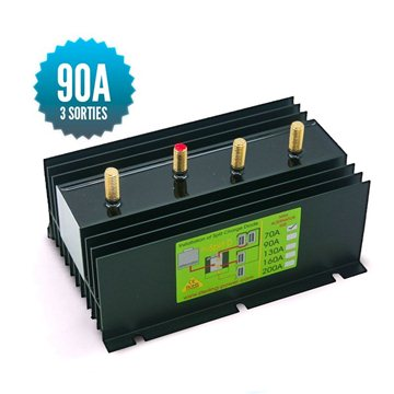 Diode distributor 1 input 3 outputs 90A