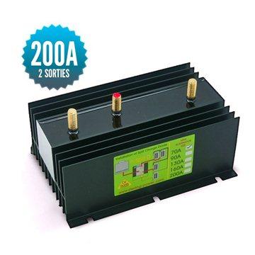 Diode distributor 1 input 2 outputs 200A