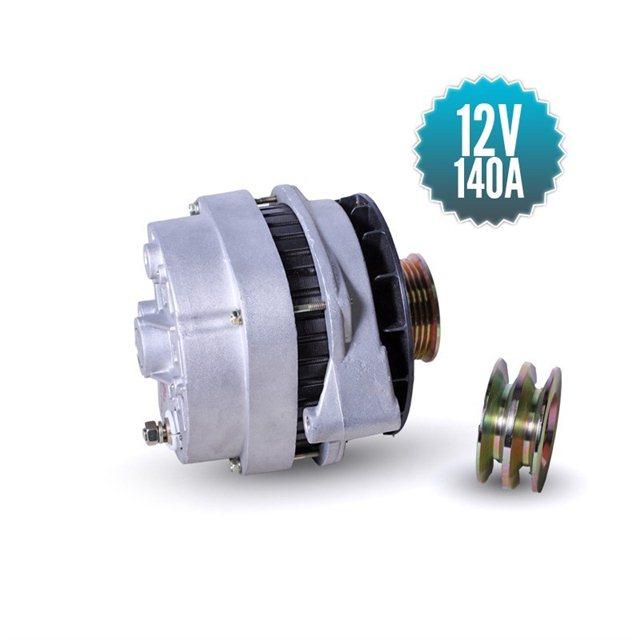 High efficiency 12 volt sterling marine alternator