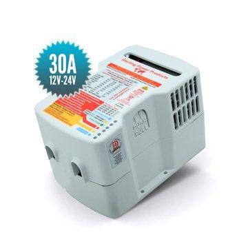 Chargeur de batterie intermédiaire 12V 24V 30A