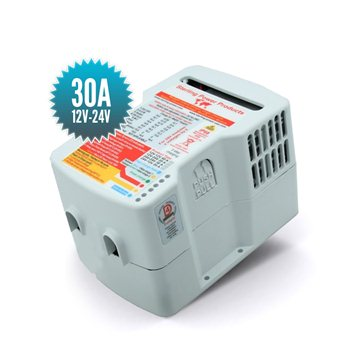 Intermediate battery charger 12V 24V 24V 30A