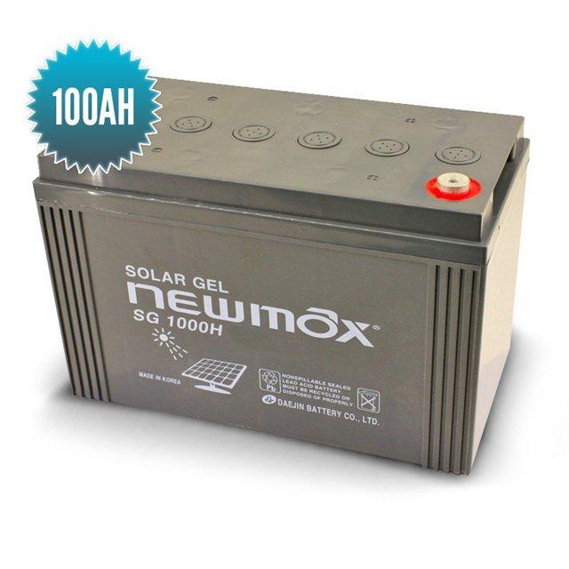 Newmax Gel Battery 100 Ah